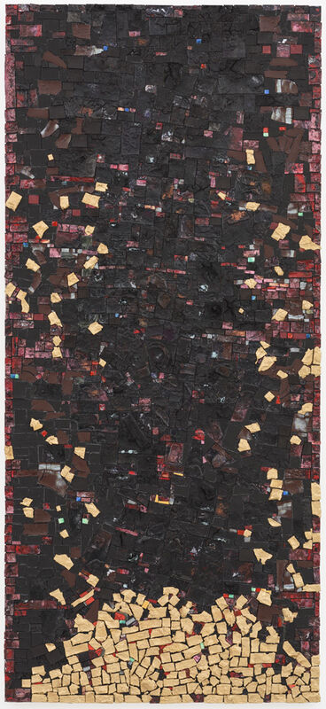 Jack Whitten, 'The Saint James Brown Altarpiece', 2008, Painting, Acrylic on cavas, Zeno X Gallery