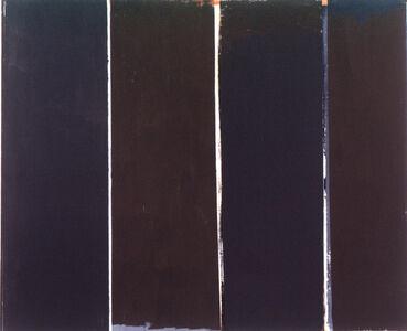 Alan Green, 'Four Browns', 1974
