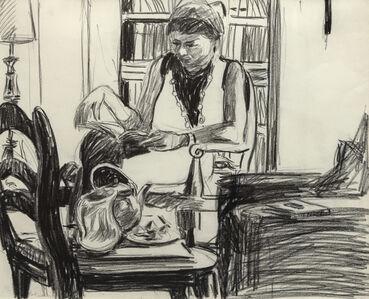 Paul Wonner, 'Women Reading', 1963-1964