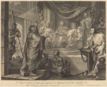 William Hogarth, 'Paul before Felix', 1752