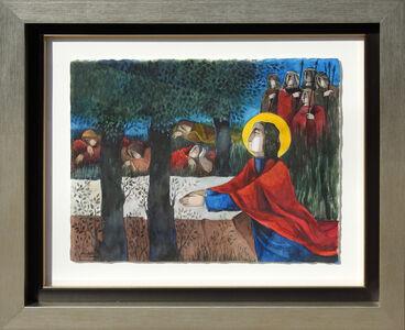"""Alvar Sunol, '""""Jesus Orando Monte Olivos""""', ca. 2014"""