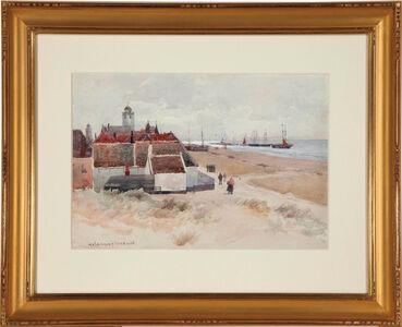 Melbourne H. Hardwick, 'A Dutch Harbor Scene'
