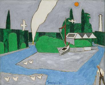 Julian Trevelyan, 'View from Watermans', 1986