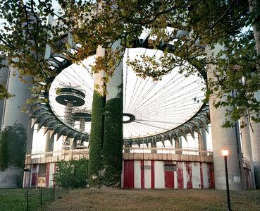"Jade Doskow, 'New York 1964 World's Fair, ""Peace Through Understanding,"" New York State Pavilion', 2008"