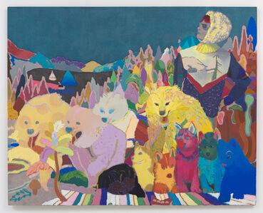 Leon Benn, 'Weekend Musher', 2015