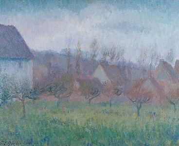 Theodore Earl Butler, 'Farm Orchard in Winter', 1904