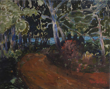 George Benjamin Luks, 'Road to the Water', Date unknown.
