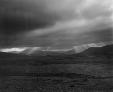 Frank Gohlke, 'Looking NW across landslide-debris flow from a ridge 3.5 miles NE of Mt. St. Helens', 1981