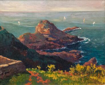 Henry Moret, 'Côte rocheuse avec rempart', ca. 1895/1896
