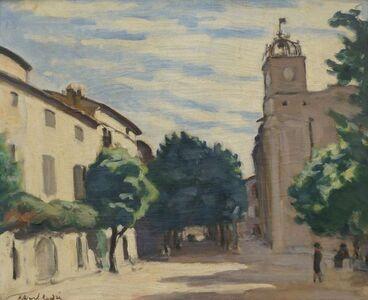 Albert André, 'Le Beffroi de Laudun', 1928