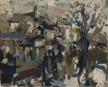 Janice Biala, 'Poitiers', 1957