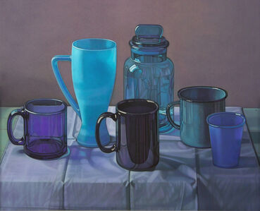 Jane Lund, 'Blue Cups', 2006