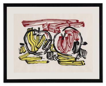 Roy Lichtenstein, 'Red Apple and Yellow Apple (Corlett 197)', 1983