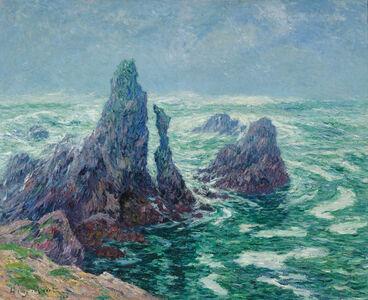Henry Moret, 'Les Aiguilles du Port-Coton à Belle-Île', 1906
