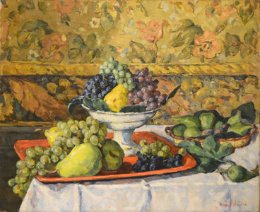 Albert André, 'A Still Life with Fruit', ca. 1908