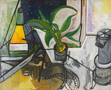 James Weeks, 'Still Life with Plant, Anchor and Stove', 1952