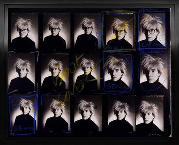 Christopher Makos, 'Andy Warhol Contact Sheet ', 2020