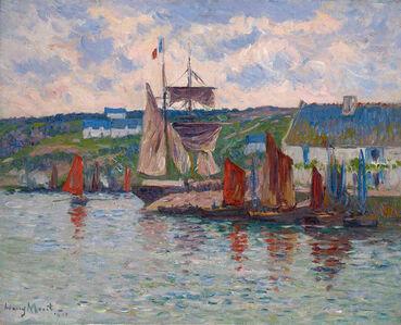 Henry Moret, 'Port en Bretagne', 1910