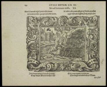 Virgil Solis, 'Iris ad Somnum missa', 1563