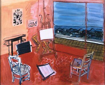 Raoul Dufy, 'Artist's Studio in Vence'