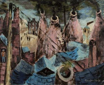 Julian Trevelyan, 'Kilns at Burslem', 1938-43