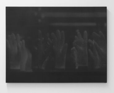 Troy Brauntuch, 'Untitled (Gloves behind glass)', 2011