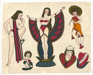 Rosie Camanga, 'Untitled (Pinups)', ca. 1950