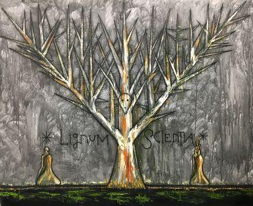 José Bedia, 'Lignum Scientia (Tree of Knowledge)', 2019