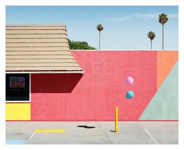 George Byrne, 'Santa Clarita (With Neon)', 2018