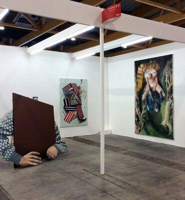 Galerie Kleindienst at Art Brussels 2015, installation view
