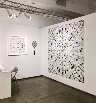 The Flat - Massimo Carasi at VOLTA NY 2020, installation view