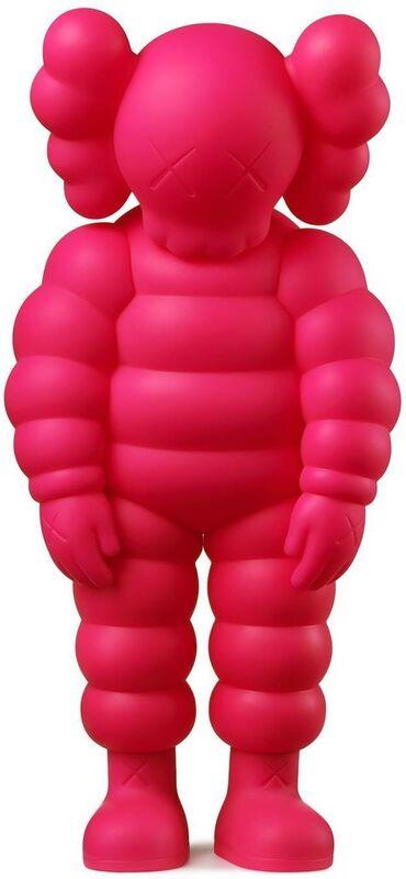 KAWS, 'What Party - Chum (Pink)', 2020, Sculpture, Sculpture multiple, Lougher Contemporary