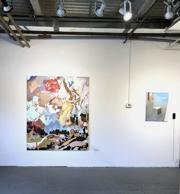 Never Mind the Bullocks, installation view