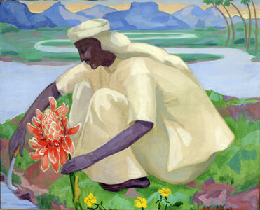 Achsah Barlow Brewster, 'The Flower', 1922-1923