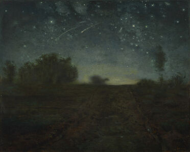 Jean-François Millet, 'Starry Night', 1850-1865