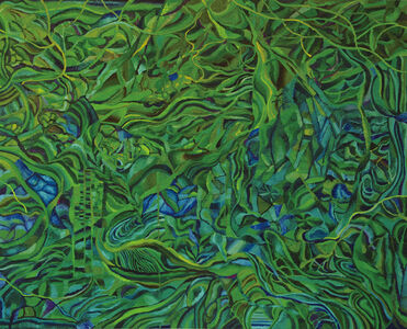 Kazuya Sakamoto, 'Waterweeds -landscape-', 2015