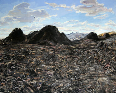 Cindy Tower, 'Cinder Cone Valley', 2011
