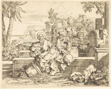 Sébastien Bourdon, 'Rest on the Flight into Egypt', ca. 1650