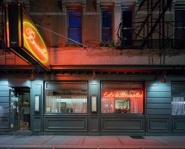 David Leventi, 'Cafe de Bruxelles, 118 Greenwich Avenue, West Village, New York', 2005-2007