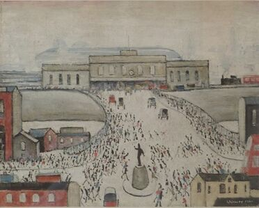 Laurence Stephen Lowry, 'Station Approach'