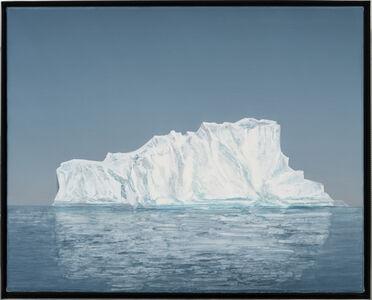 Rob Reynolds, 'Iceberg (Jakobshavn Isbrae 69.1667° N, 49.9167° W Greenland, 22 July, 2019, 9:15 PM)', 2021