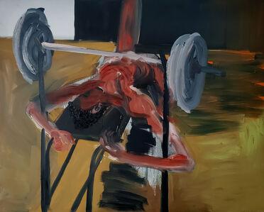 Rainer Fetting, 'Gewichtheber', 1984