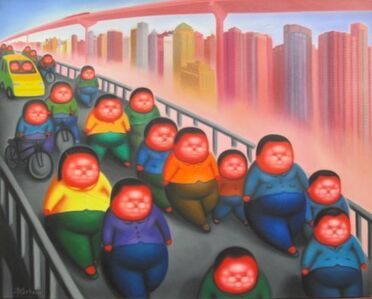 Pan Dehai, 'After a day's Work ', 2011-2012