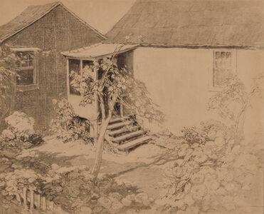Lilian Westcott Hale, 'Kitchen Garden with Apple Tree'