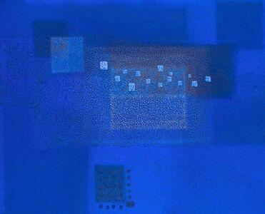 Katsuyoshi Inokuma, 'IN BLUE Dec '18', 2018