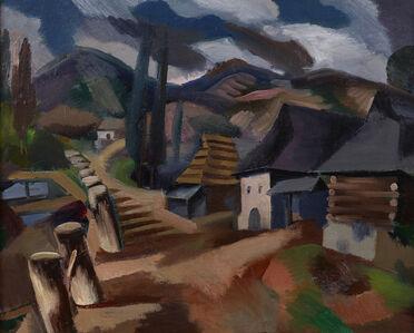 Jan Matulka, 'Slovakian Village: Turi-Pole', ca. 1921