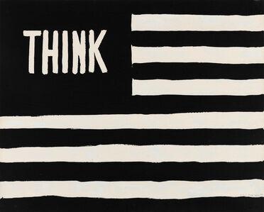 William Nelson Copley, 'Think (Flag)', 1967
