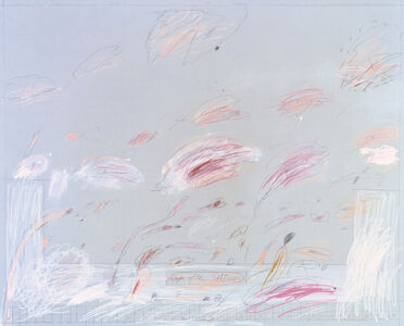 Cy Twombly, 'RAPE OF THE SABINES', 1961
