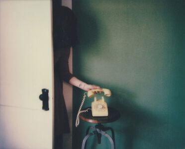 Lisa Toboz, 'Wrong Number - Contemporary, Polaroid, Photograph, Figurative, 21st Century, Women, Healing', 2017