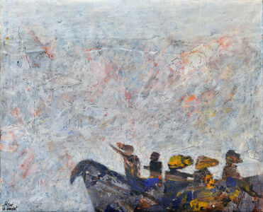 Tayseer Barakat, 'Sailing', 2018